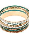 (1 шт) Женская мода многоцветный Pearl Multi-браслет