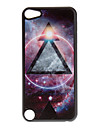 Shimmering Universe and Triangle Pattern Hard Case for iPod touch 5