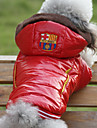 Lovely Smooth Snow-defence Warm Coat with Hoodies for Pets Dogs (Assorted Sizes)