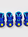 Dog Shoes & Boots Black Rose Green Blue For Pets
