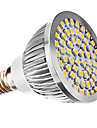 E14 LED 스팟 조명 MR16 60 SMD 3528 240 lm 따뜻한 화이트 AC 110-130 AC 220-240 V