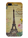 Eiffel Tower Plastic Case Cover For iPhone 5/5S