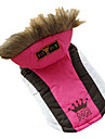 Dog Coat / Hoodie Red / Green / Blue / Rose Dog Clothes Winter Tiaras & Crowns