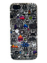 For iPhone 5 Case Case Cover IMD Pattern Back Cover Case Cartoon Soft TPU for iPhone SE/5s iPhone 5