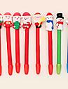 estilo muñeco de nieve bolígrafos navidad