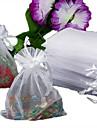 50pcs Organza Drawstring Gift Jewellery Bag Pouch White
