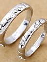 Noces d'argent anneau de couples (Taille hasard, une paire)