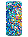 Colorful Broken Mirror Plastic Back Case for iPhone 5/5S