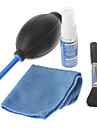 Universal 4-in-1 Lens Cleaning Kits for Camera/Camcorder (Blower, Brush, Cloth, Cleaning Fluid)