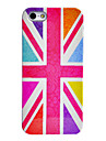 Joyland Bright Coloured Union Jack Pattern ABS Back Case for iPhone 5/5S