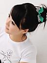 Bowknot Stripe laços de cabelo
