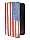 Vintage American Flag Pattern PU Leather Full Body Case for Samsung Galaxy Tab3 P3200