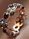 Anéis Pesta / Diário / Casual Jóias Liga Anéis Grossos9 Dourado