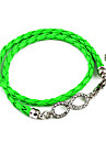 Mode Infini PU bracelet d'enveloppe (couleur aléatoire)