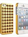 Placage de couverture de cas pour l'iPhone 5/5S Rivet (couleurs assorties)