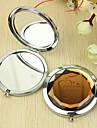 Персонализированные Подарок Сердце Pattern Chrome компактное зеркало