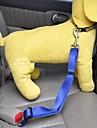 강아지용 자동차 시트 하네스 /강아지 안전 하네스 조절 가능/리트랙터블 안전 솔리드 나일론