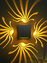 Modern/Contemporary Wall Lamps & Sconces For Metal Wall Light 90-240V 3WW