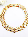 Jewelry Chain Necklaces Party / Daily / Casual Gold Plated Women Gold Wedding Gifts