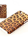 Pattern Leopard Hard Case fosco para iPhone 4/4S