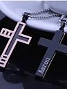 Персональный подарок Ожерелья Нержавеющая сталь Универсальные Деловые Гламур Классика Праздник Подарок