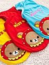 Chien Tee-shirt Vetements pour Chien Cosplay Animal Jaune Rouge Bleu Costume Pour les animaux domestiques