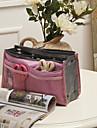 30x18cm colorido Dual-cremalleras bolsa de almacenamiento (colores surtidos)