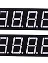 compatível (para Arduino) módulo de exibição de 12 pinos de 4 dígitos (2pcs)
