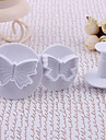 Butterfly Pattern Cake and Cookies Cutter Mold (3 PCS)