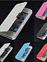 Etui Til iPhone 5 Apple iPhone 5 etui Flip Syrematteret Magnetisk Fuldt etui Helfarve Hårdt PU Læder for iPhone SE/5s iPhone 5