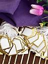 Fashion Golden Display Price Tags  (Golden)(500pcs)