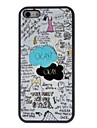 Красивая мультяшном стиле интересного Шаблоны ПК Футляр для IPhone 5C