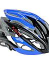 FJQXZ Ultraleve 26 Vents PC + EPS Azul Capacete de Ciclismo