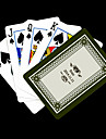 Patron regalo personalizado Gray Flower Playing Card para Poker