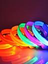 Colorée mignonne petite LED colliers pour animaux de compagnie chiens (couleurs assorties)