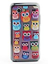 Hibou Visages de protection en PVC Retour Configuration pour i9070 Galaxy S Advance