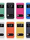 Smart Luxury Flip Leather Cover Case for iPhone 4/4S (Assorted Color)
