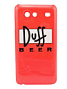 Duff Beer Pattern Hard Case for Samsung Galaxy S Advance I9070