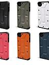 아이폰 4/4S (분류 된 색깔)를위한 복합 하이브리드 케이스