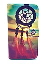Beautiful Dream Catcher Pattern PU Leather Full Body Case with Card Slot for Samsung Galaxy S5 I9600