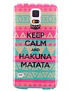 Monogram Pattern TPU Soft Protective Back Case Cover for Samsung Galaxy S5 I9600