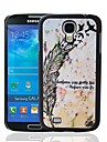 Sometimes You Gotta Fall Quote Pattern Plastic Hard Protective Case for Samsung Galaxy S4 i9500