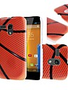 Padrão Basketball caso capa dura para Motorola Moto G DVX XT1032