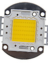 zdm 1pc integreret led 4000-5000 lm 30 v pære tilbehør led chip aluminium til diy led flood lys spotlight 50 w varm hvid