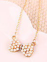 Women's Pendant Necklaces Pearl Alloy Fashion Jewelry Party 1pc