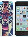 Roaring Tiger Pattern Caso duro do PC para o iPhone 5C