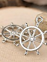 Eruner®27*23MM Alloy Anchor Charms Pendants Jewelry DIY (5PCS)