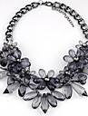 Women\'s Luxury Statement Jewelry European Pendant Necklace Statement Necklace Crystal Synthetic Gemstones Pendant Necklace Statement