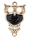Alloy Owl DIY Charms Pendants for Bracelet & Necklace