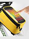 ROSWHEEL Cell Phone Bag / Váztáska 5.5 hüvelyk Érintőképernyő, Vízálló Kerékpározás mert Samsung Galaxy S6 / LG G3 / Samsung Galaxy S4 Kék / fekete / iPhone 8/7/6S/6 / Vízálló cipzár